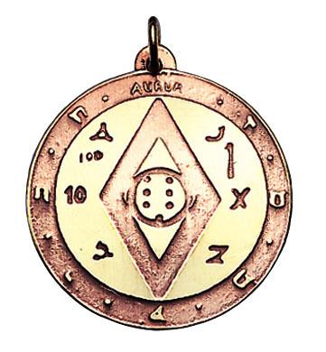 Amulett des Reichtums (Kupfer/Messing) Amulette - amalet